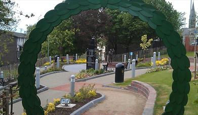 Joey and Robert Dunlop Memorial Gardens