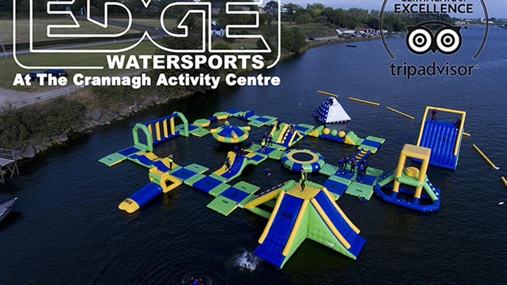 The Edge Watersports at the Crannagh Activity Centre